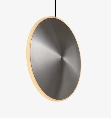 Graypants Chrona Dish10v Pendant Steel