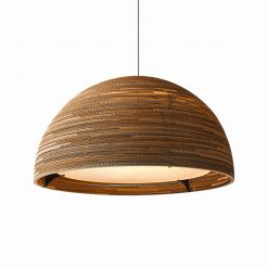 Graypants Scraplights Dome36 Pendant Natural